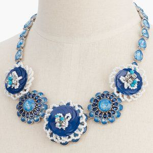 TALBOTS Sequined Statement Necklace